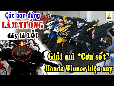 """Honda Winner 150 – Đừng """"LẦM TƯỞNG"""" Là Lỗi Vòng Tua ▶️ Giải Mã """"CƠN SỐT"""" Winner"""