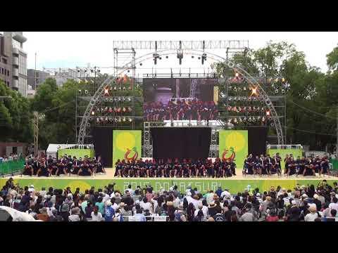 「稲沢市立大里中学校」どまつり2017 メインステージ
