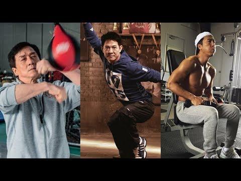 Jackie Chan (成龍), Jet Li (李连杰), Donnie Yen (甄子丹) Training 2018 - Thời lượng: 4 phút, 11 giây.
