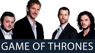 The Game of Thrones actors and producers at the Oxford Union. Featuring the creators David Benioff and Daniel Brett Weiss ...