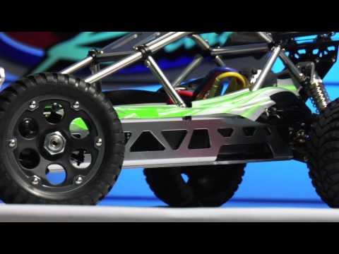 Смотреть видео XTM RAIL 1/8 4WD 2.4Ghz BRUSHLESS OFF-ROAD BUGGY RTR