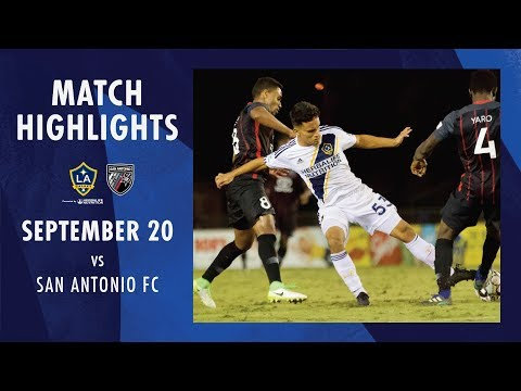 Video: Highlights: LA Galaxy II vs. San Antonio FC | Sept. 20, 2019