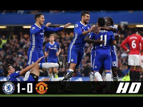Chelsea vs Manchester United 1-0 All Goals & Highlights (Premier League) 13-03-2017