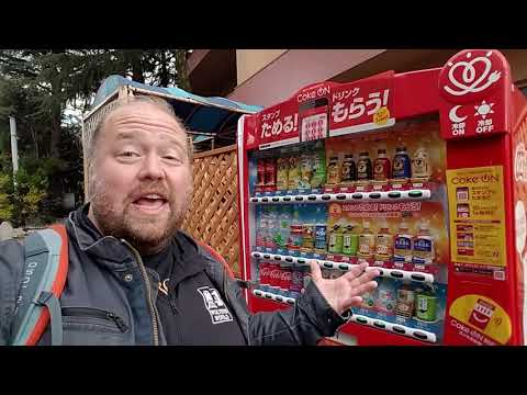 Cold or Hot Japanese Vending Machines Have Whatever You Need