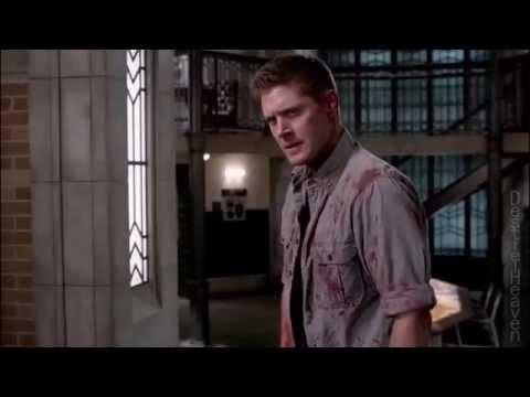 "Supernatural 10x22 The Prisoner ""Dean tries to kill Castiel."""