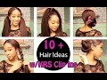 10+ HAIR IDEAS with Clip Ins - YouTube