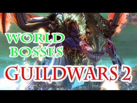 Guild Wars 2 Gameplay – World Bosses: Tequatl The Sunless