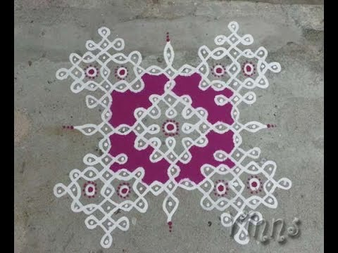 Video Maakolam || Simple Sikku Maakolam || Wet Rice Paste Rangoli || Melika Muggulu download in MP3, 3GP, MP4, WEBM, AVI, FLV January 2017