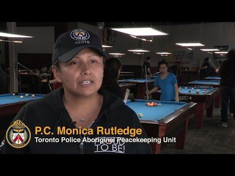 @TorontoPolice Engage Aboriginal Youth in 'Billiards 101' Program