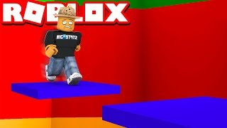 I'M NEVER BEATING THIS TOWER!! (Roblox Tower of Hell)