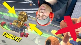 F#%KING GOLD MARIO IN THIS B#TCH!! [MARIO KART 8 DELUXE]