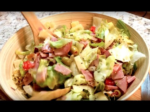 Delicious 1905 Cuban Salad (Low Carb - KETO Friendly)