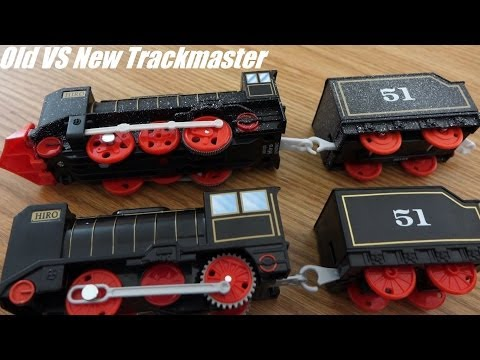Thomas & Friends: NEW vs OLD Trackmaster Model Toy Trains