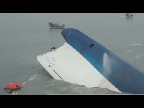 wearing - The search continues for passengers aboard the sunken South Korea ferry. CNN's Nic Robertson reports.