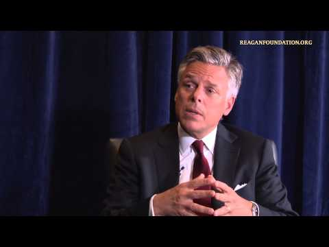 jon huntsman - For more about the ongoing works of President Reagan's Foundation, please visit http://www.reaganfoundation.org.