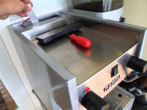 Gaggia TS - Testing the Water Tank Level Sensor