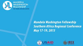 Mandela Washington Fellowship Southern Africa Regional Conference Opening Remarks Speech by H.E. Monica Geingos, First...
