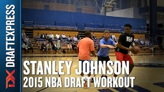 Stanley Johnson - 2015 Pre-Draft Workout & Interview - DraftExpress