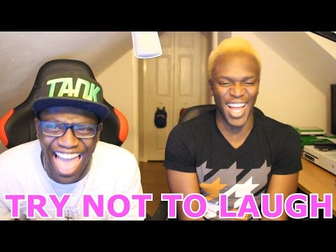 Try Not To Laugh Challenge With My Bro