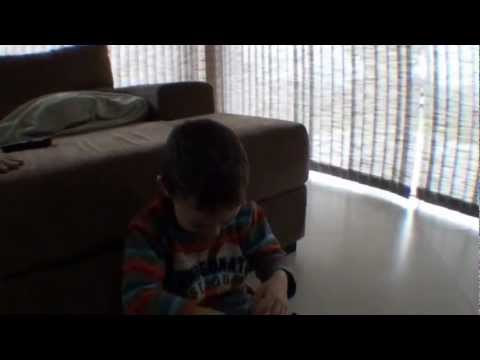 Poor kid prank by his father with a fake Kinder Joy Egg