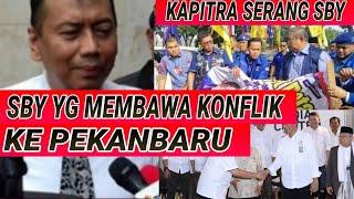 Video TAK TERIMA, KAPITRA SERANG BALIK SBY; BALIHO SBY; SPANDUK DEMOKRAT; PRABOWO JOKOWI; PILPRES 2019 MP3, 3GP, MP4, WEBM, AVI, FLV Desember 2018