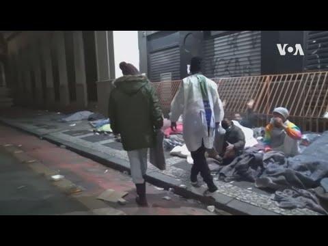 Bραζιλία: Αυξάνεται ο αριθμός των αστέγων εν μέσω πανδημίας COVID-19