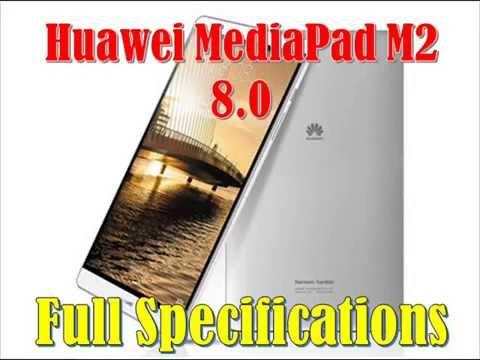 Huawei MediaPad M2 8 0 Specs