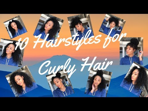 10 Curly Hairstyles