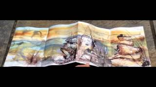 Concertina sketchbook 'a tale of two sides'