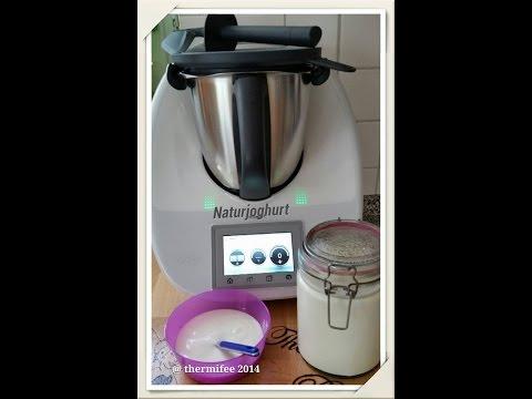 Thermifee - Naturjoghurt im TM 5 nach dem integrierten automatischen Rezept in 8 Stunden ;-) zubereitet.