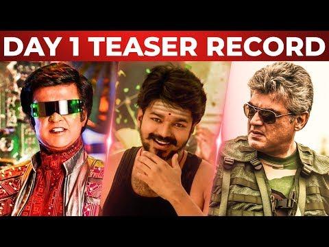 Video 2.0, Mersal, Vivegam - Day 1 Teaser Record | Superstar Rajinikanth | Thalapathy Vijay | Thala Ajith download in MP3, 3GP, MP4, WEBM, AVI, FLV January 2017