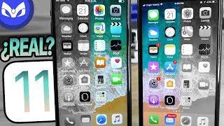 iOS 11 Fake Vs iOS 11 Real Diferencias – No Lo Vas A Creer