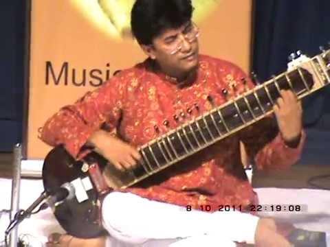 Sitar-Debojyoti Gupta.Raag-Charukeshi,Alaap