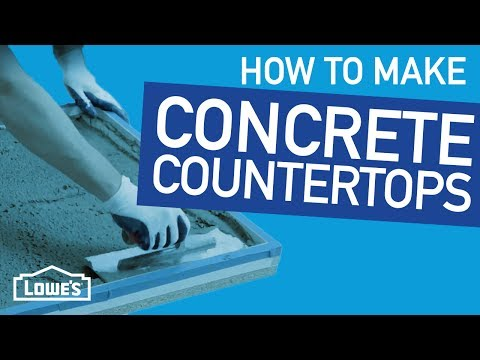 How To Make Concrete Countertops | Beyond The Basics