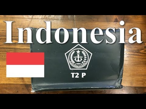 Indonesia T2 P 24 Hour Ration Menu 1 ~2017~