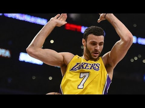 Larry Nance Jr Huge Alley Oop! Lakers 1st 3 Game Win Streak! 2017-18 Season