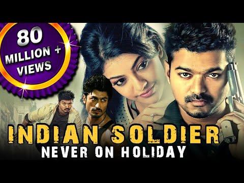 Indian Soldier Never On Holiday (Thupakki) Hindi Dubbed Full Movie | Vijay, Kajal Aggarwal
