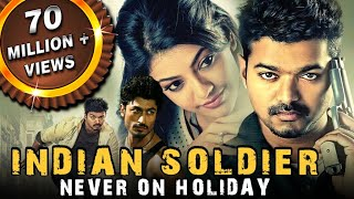 Nonton Indian Soldier Never On Holiday  Thupakki  Hindi Dubbed Full Movie   Vijay  Kajal Aggarwal Film Subtitle Indonesia Streaming Movie Download