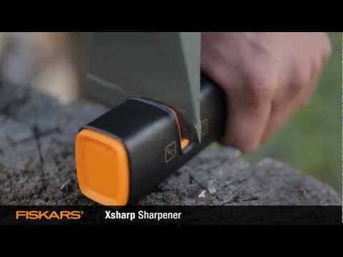 Новая точилка Fiskars Xsharp