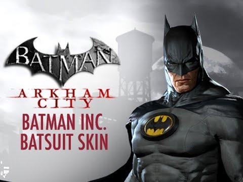 Batman Arkham City Batman Beyond Batsuit Costume DLC Free