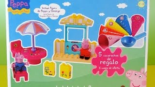 Peppa Pig Heladería con Play-Doh Revisión Completa