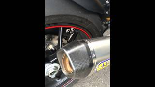 5. Speed Triple R 2014 + ARROW 3-1 System Low Boy