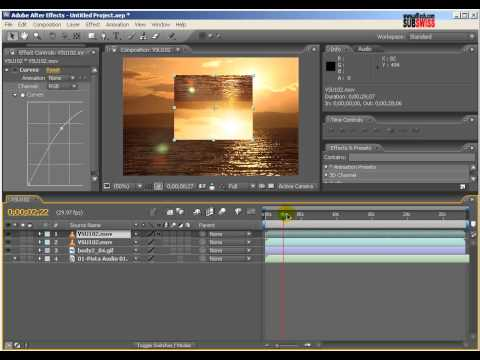 After Effects Effects Layers              