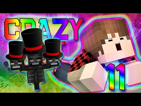 Minecraft: FUNNY WITHER HATS! Crazy Craft 2.0 Modded Survival w/Mitch! Ep. 11 (Crazy Mods)