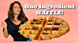 ONE INGREDIENT WAFFLE! High protein~ Good Carbs! by Gretchen's Bakery