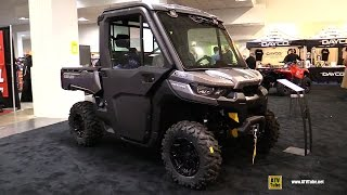 4. 2017 Can Am Defender XT Cab HD8 Utility ATV - Walkaround - 2016 Toronto ATV Show