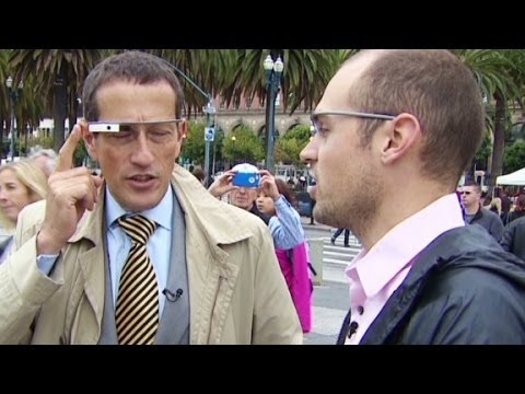 is - CNN's Richard Quest takes to the streets of San Francisco with Goggle's highly anticipated Google Glass.