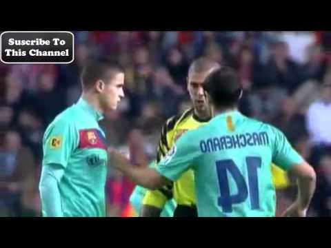 Barcelona Players Speaking English Fluently- Jugadores Del Barcelona Hablando Ingles Fluidamente (видео)