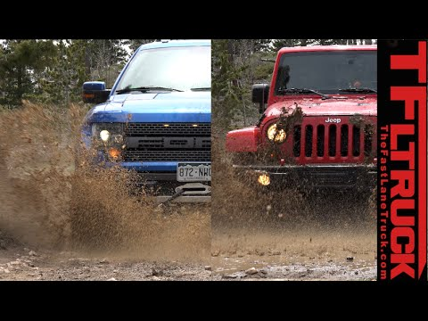 Jeep wrangler raptor фотография