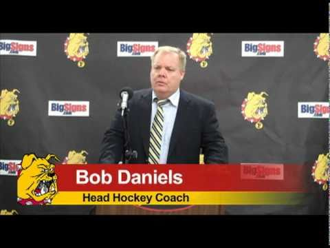 Bob Daniels Post Game Press Conference 11/5/10